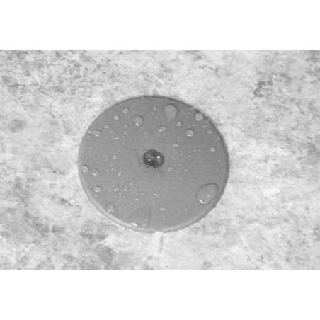 Pacote de 100 válvulas injeção 6,5 mm bege