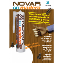 Kit de tratamiento de madera por inyección para madera clara 100 m2