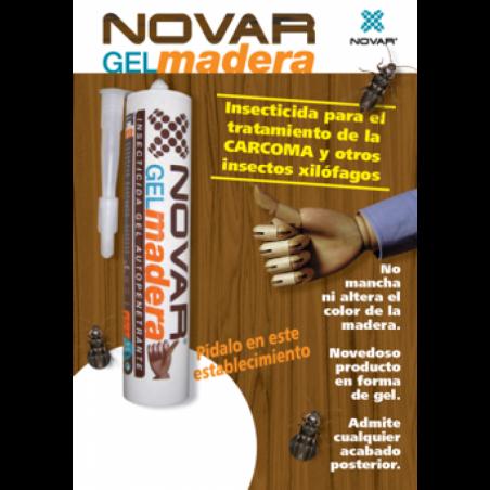 Kit de tratamento por inxección 100 m2 de madeira clara
