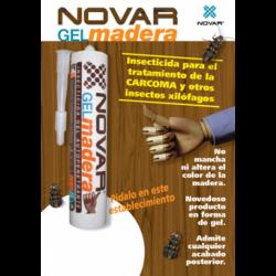 Kit de tratamento por inxección 50 m2 de madeira clara