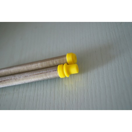 Sac de 1.000 'injecteurs 9,5 mm beige