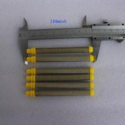 Pacote de 1.000 válvulas injeção 9,5 mm marrom