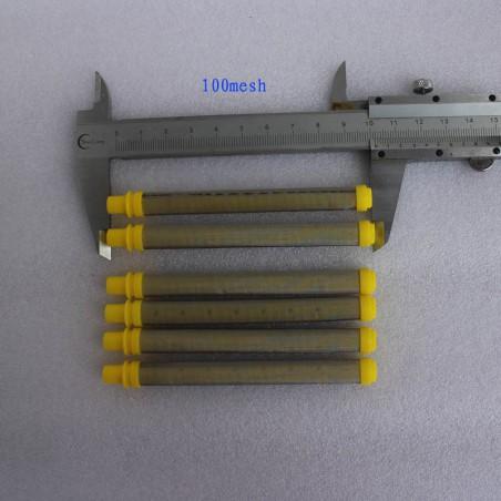 Paquete de 1.000 válvulas de inxección 9,5 mm marrón