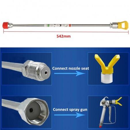 Pistola pulverizadora para equipos airless 3600PSI