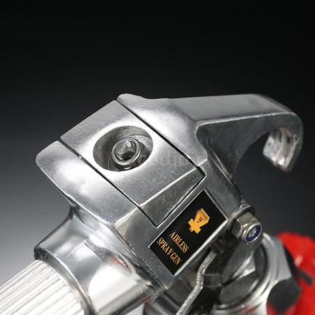 Adaptador giratorio multi-angular para pistola de pulverización airless